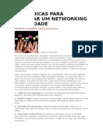 Cinco Dicas Para Realizar Um Networking de Verdade