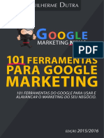 Livro Google Marketing Ninja 101 Ferramentas
