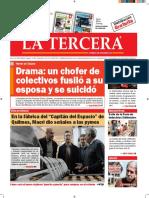 Diario La Tercera 21.07.2016