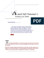 Autocad Tutorial 1