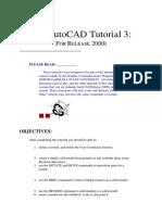 Autocad Tutorial 3