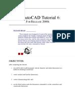 Autocad Tutorial 6