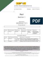 Rail Code of Practice