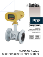 Users Guide FMG Series electromagnetic flowmeter