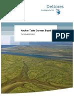 Anchor Tests German Bight