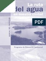 La Ruta Del Agua en Nuestra Ciudad