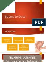 Trauma Torácico - Equipo 4