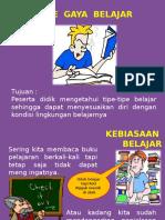 1. Gaya Belajar