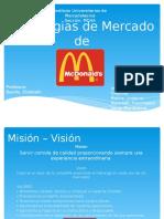 Planificacion estretegia de mcdonalds