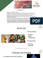 Grasas y Carbohidratos en la salud