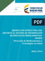 Ejemplo Estructura Reporte Sismed