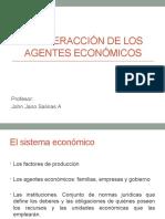 Los Agentes Economicos