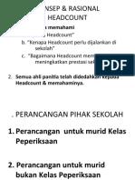 Pengurusan Panitia (Head Count)