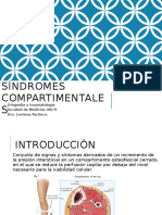 Síndromes compartimentales