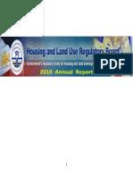 2010 Annual Report HLURB