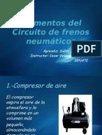 Elementos Del Circuito de Frenos Neumáticos