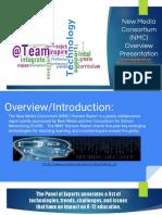 new media consortium  nmc  overview presentation tech280 - orange group