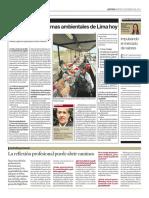 Articulo - Principales Problemas Ambientales de Lima Hoy