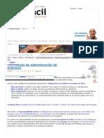 Curso Gratis De Administracion De Empresas El Proceso Administrativo Aulafacil11 Organismos Planificacion