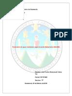 Parámetros de aguas residuales según Acuerdo Gubernativo 236-2006