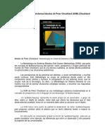 La Metodología Para Sistemas Blandos de Peter Checkland