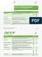 Data Centre Training Roadmap R16.01