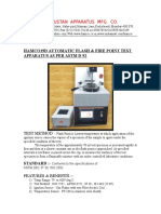 Automatic Flash & Fire Point Apparatus as Per Astm d 92 - Copy