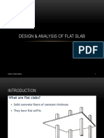 Design and Analysis of Flat Slab