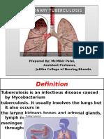 Pulmonary Tuberculosis.pptx