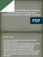 Enviropreneurial Marketing Strategy