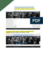 Recomendaciones Para El Ingreso Al Curso en Modalidad Virtual2016