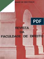 Revista FD Vol74 1979 USP obra rara