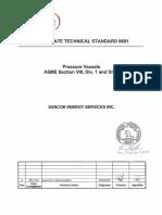 ASME Vessel Standard Suncor