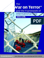 'War on Terror' and the Framework of International Law