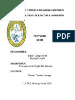 Proyecto OFDM Procesamiento de Senales