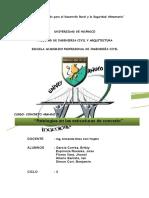 Informe Concreto II - 2da t.a.