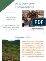 How to Overcome Firewood Crisis-Dieter Seifert-April 2015(1)