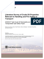 Crude Oil Properties-handling Fire Safety