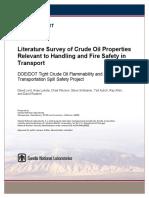 Crude Oil Properties-handling Fire Safety