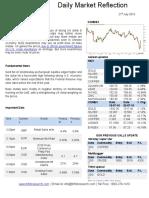 Commodity Market Trend 21 July 2016