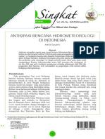 Antisipasi Bencana Hidrometeorologi Di Indonesia