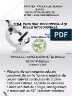 Prezentare Patologie Celulara Si Moleculara
