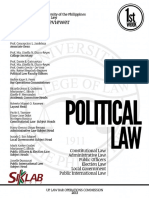 UP Bar Reviewer 2013 Political Law