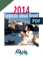 2014 Corporate Annual Report Italian