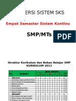 Konversi Sistem SKS SMP_4 Semester.pptx