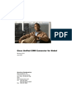 Cisco Unified CRM Connector for Siebel
