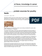 AllAboutFeed - Alternative Protein Sources for Poultry Feeds