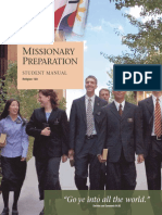 Missionary Preparation Student Manual Eng
