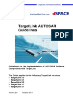 TargetLink AUTOSAR Guidelines
