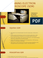 Scanning Electron Microscope (Sem) - Kelompok 6